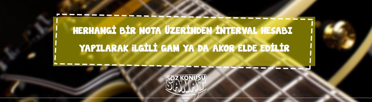 gitar kursu İzmir Hatay - akor oluşturmak